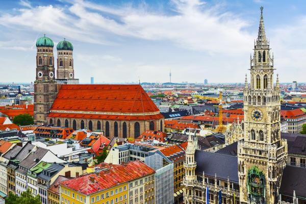Munich panoramic photo
