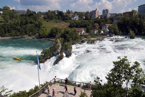 Рейнский водопад фото