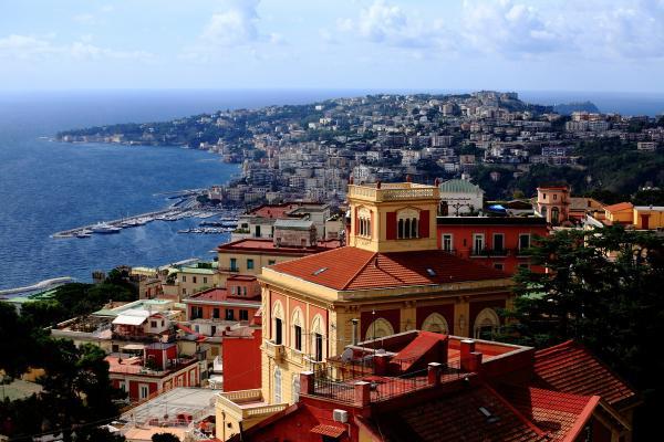 Naples panoramic photo