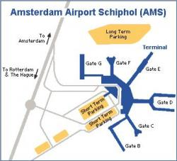 Amsterdam Airport Schiphol scheme