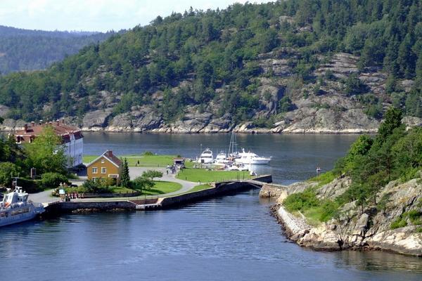 Осло-фьорд фото