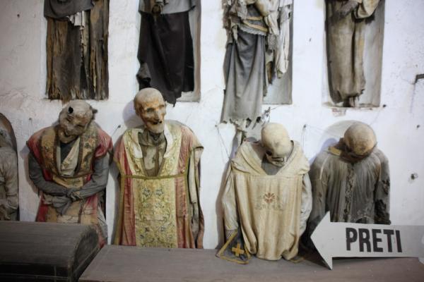 Capuchin catacombs photo