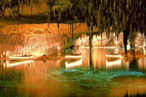 Пещера Дракона на Майорке фото
