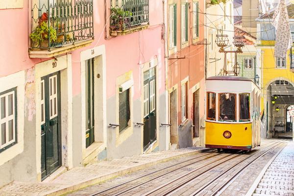 Lisbon panoramic photo