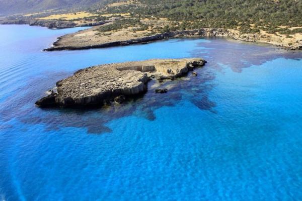 """Foto de la bahía """"Laguna Azul"""""""