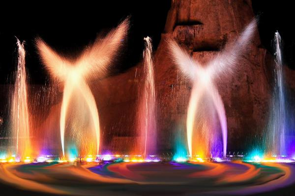 Dancing fountains photo