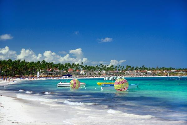 Punta Cana panoramic photo
