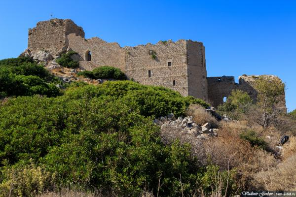 Foto del castillo de Monolithos
