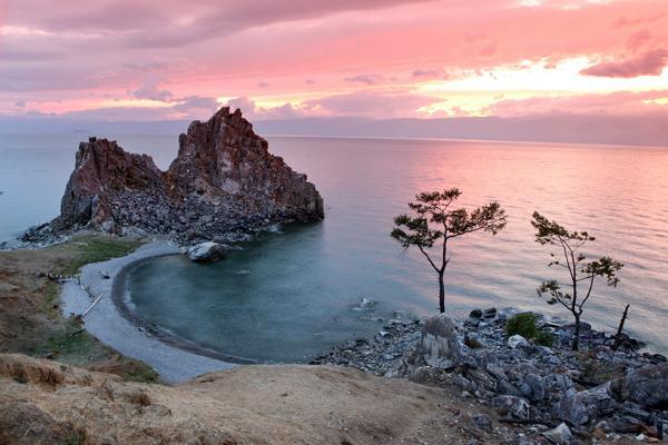 Foto del lago Baikal
