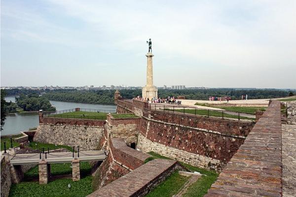 Belgrader Festung Kalemegdan Foto