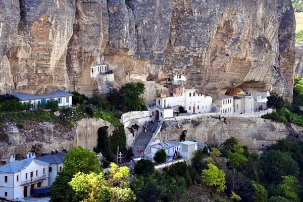 Инкерманский Свято-Климентовский пещерный монастырь фото