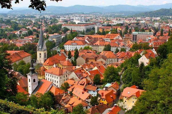 Ljubljana Panoramafoto