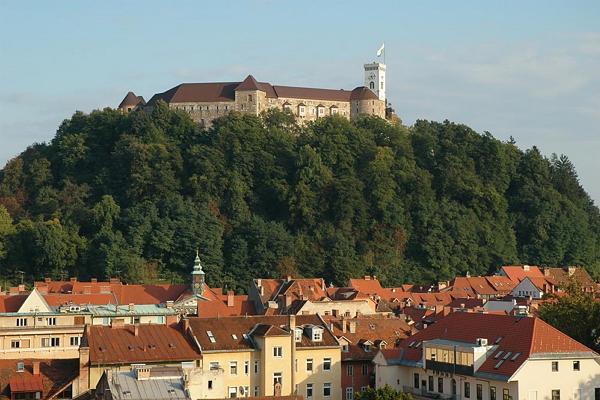 Schlossfoto von Ljubljana