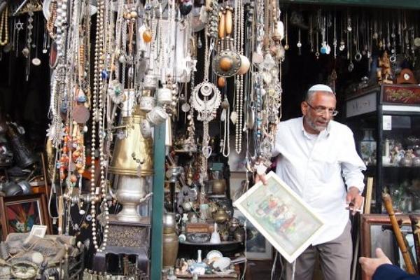 Блошиный рынок в Яффо (Jaffa Flea Market) фото