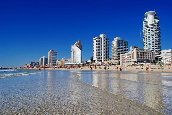 Тель-Авив панорамное фото
