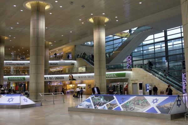 Аэропорт Тель-Авива Бен-Гурион фото
