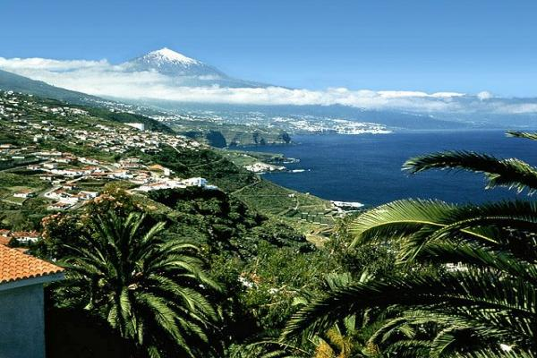 Тенерифе панорамное фото