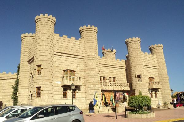 Замок Сан-Мигель фото