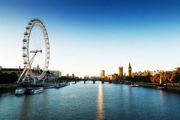 London panoramic photo
