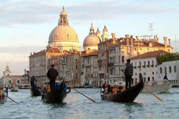 Venice panoramic photo