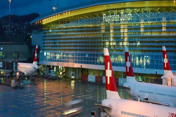 Аэропорт Цюриха фото